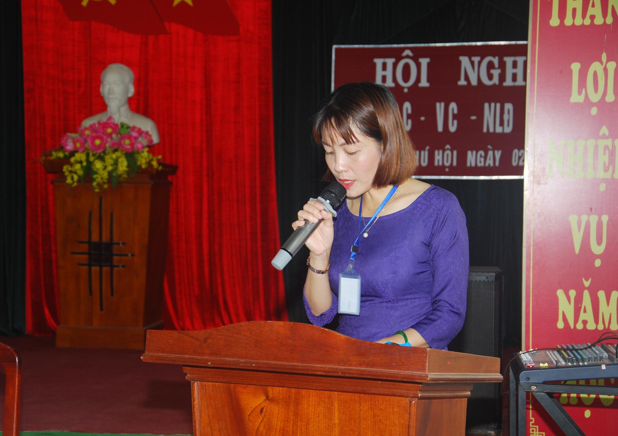 Hội Nghị Công Chức – Viên Chức – Người Lao Động Năm Học 2020 – 2021